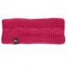 KitSound Bow Headband - вълнена лента за глава с вградени слушалки за iPhone и мобилни устройства (розов) 1