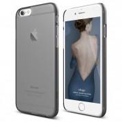 Elago S6 Slim Fit 2 Case + HD Clear Film - качествен кейс и HD покритие за iPhone 6, iPhone 6S (опушен)