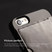 Elago S6 Outfit Genuine Leather Pocket Case for the iPhone 6, iPhone 6S (4.7inch) + HD Professional Screen Film included (black) 1