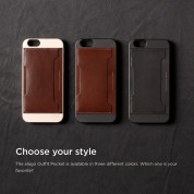 Elago S6 Outfit Genuine Leather Pocket Case for the iPhone 6, iPhone 6S (4.7inch) + HD Professional Screen Film included (black) 4