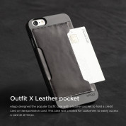 Elago S6 Outfit Genuine Leather Pocket Case for the iPhone 6, iPhone 6S (4.7inch) + HD Professional Screen Film included (black) 3
