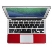 TwelveSouth SurfacePad - кожено защитно покритие за частта под дланите на MacBook Air 13 (модели от 2010 до 2017 година) (червен) 1