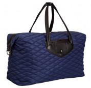 Knomo Huntley Weekender Bag - луксозна кожена чанта за мобилни устройства (тъмносин) 1