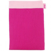 Soft Knitting Wool Skin Cover for Apple iPad (pink)