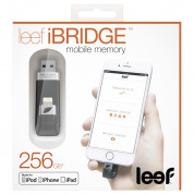 Leef iBRIDGE Mobile Memory 256GB - външна памет за iPhone, iPad, iPod с Lightning (256GB) 7