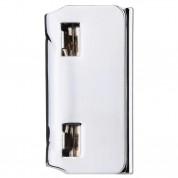 Baseus Smart Buckle - луксозна магнитна щипка за флип кейсове и калъфи (калъфи, отварящи се като папка) (сребрист) 2