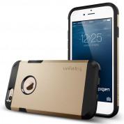 Spigen Tough Armor Case - хибриден кейс с най-висока степен на защита за iPhone 6, iPhone 6S (златист) 1