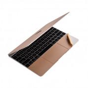 Comma Full Protection - комплект защитни покрития за екрана, пада и корпуса на MacBook 12 (златист) 1