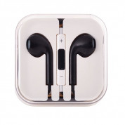 Earpods with remote and mic for iPhone, iPod, iPad (black)