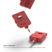 Elago Keyring Splitter for iPhone, iPad, iPod, Galaxy and any portable device with 3.5mm (red) 1