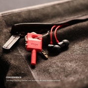 Elago Keyring Splitter for iPhone, iPad, iPod, Galaxy and any portable device with 3.5mm (red) 7