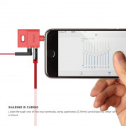 Elago Keyring Splitter for iPhone, iPad, iPod, Galaxy and any portable device with 3.5mm (red) 6