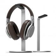 Elago H Stand - дизайнерска алуминиева поставка за слушалки (сребриста)