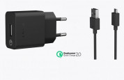 Sony Quick Charger UCH10 - захранване с USB изход и MicroUSB кабел за смартфони и таблети (ритейл опаковка) 1