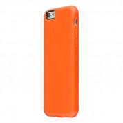 SwitchEasy Numbers - термополиуретанов калъф за iPhone 6 Plus, iPhone 6S Plus (оранжев)