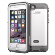 LifeProof Fre Power Case Touch ID - ударо и водоустойчив кейс с вградена батерия 2600mAh за iPhone 6 (бял)