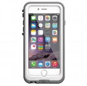 LifeProof Fre Power Case Touch ID - ударо и водоустойчив кейс с вградена батерия 2600mAh за iPhone 6 (бял) 1