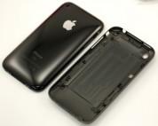 Резервен капак/панел за задната част на iPhone 3G 16GB (черен)