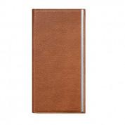 SwitchEasy Wrap Folio Case - кожен калъф и поставка за iPhone 6 Plus, iPhone 6S Plus (кафяв)