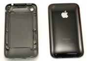 Резервен капак/панел за задната част на iPhone 3G 16GB (черен) 1