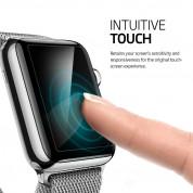 Spigen Screen Protector Crystal - защитно покритие за дисплея на Apple Watch 38mm (3 броя) 4