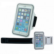 TIPX Armband Case for smartphones with displays from 4.9 to 5.7 inches (white)