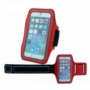 TIPX Armband Case for smartphones with displays from 4.9 to 5.7 inches (red)
