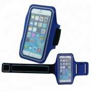 TIPX Armband Case for smartphones with displays from 4.9 to 5.7 inches (blue)