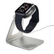 A-Solar Xtorm Smartwatch Dock XPD09 - стабилна алуминиева поставка за Apple Watch (сребриста) 1