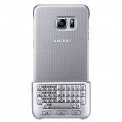 Samsung Keyboard Cover QWERTZ EJ-CG928M - поликарбонатов кейс и клавиатура за Samsung Galaxy S6 Edge Plus (сребрист) 2