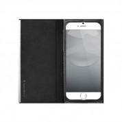 SwitchEasy Wrap Folio Case - кожен калъф и поставка за iPhone 6, iPhone 6S (черен) 1