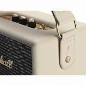 Marshall Kilburn Cream - безжичен портативен аудиофилски спийкър за iPhone, iPod и iPad и мобилни устройства с Bluetooth и 3.5 mm изход (кремав) 5