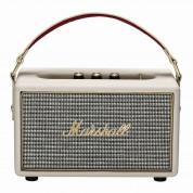 Marshall Kilburn Cream - безжичен портативен аудиофилски спийкър за iPhone, iPod и iPad и мобилни устройства с Bluetooth и 3.5 mm изход (кремав) 1
