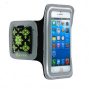 Gaiam Sport Armband Small Case for smartphones with displays up to 4.8 inches (black-green) 2