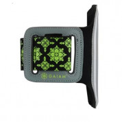 Gaiam Sport Armband Small Case for smartphones with displays up to 4.8 inches (black-green) 1