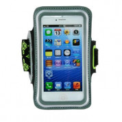 Gaiam Sport Armband Small Case for smartphones with displays up to 4.8 inches (black-green) 3