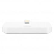 Apple iPhone Lightning Dock - оригинална универсална док станция за iPhone и iPod с Lightning (бял)