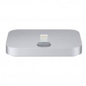 Apple iPhone Lightning Dock - оригинална универсална док станция за iPhone и iPod с Lightning (тъмносив)