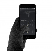 Mujjo Single Layered Touchscreen Gloves Size S - качествени зимни ръкавици за тъч екрани (черен) 1