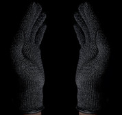 Mujjo Single Layered Touchscreen Gloves Size L - качествени зимни ръкавици за тъч екрани (черен) 9