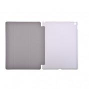Devia Light Grace Case - кожен калъф и поставка за iPad Pro 12.9 (черен) 2