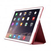 Comma Elegant Case - кожен калъф и поставка за iPad Pro 12.9 (червен) 3