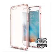 Spigen Ultra Hybrid Case for iPhone 6, iPhone 6S (clear-rose gold)