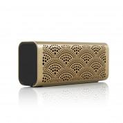 Braven Lux Water Resistant Wireless Speaker - водоустойчив безжичен спийкър, външна батерия и спийкърфон за мобилни устройства (златист) 3