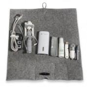 4smarts Felt Travel Bag Set - комплект аксесоари, кабели, зарядни, батерия, селфи стик и др. за мобилни устройства