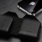 Elago Slim Glide Genuine Leather Case III for Apple iPhone 4/4S 2