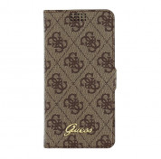Guess Book Case Universal Size L for smartphones from 4.6 to 5.2 in. (brown) 5