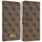Guess Book Case Universal Size L for smartphones from 4.6 to 5.2 in. (brown) 7