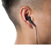 iLuv FitActive SpeakEZ Earphones - спортни слушалки с микрофон и управление на звука за iPhone, iPad, iPod и мобилни устройства (черни) 5