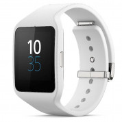 Sony Smartwatch 3 SWR50 - NFC bluetooth тъч часовник за Android смартфони (бял)